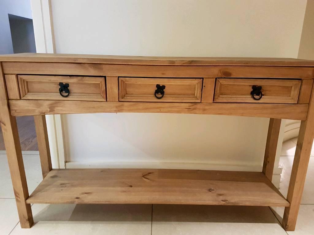 Admirable Corona 3 Drawer Console Table In Marylebone London Gumtree Interior Design Ideas Oxytryabchikinfo