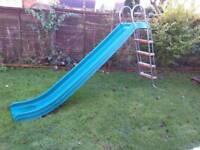 Large outdoor slide