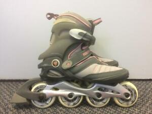 Like NEW K2 Matrix 4.1 Inline Skates (Rollerblades) 78mm/80A Womens Size 7