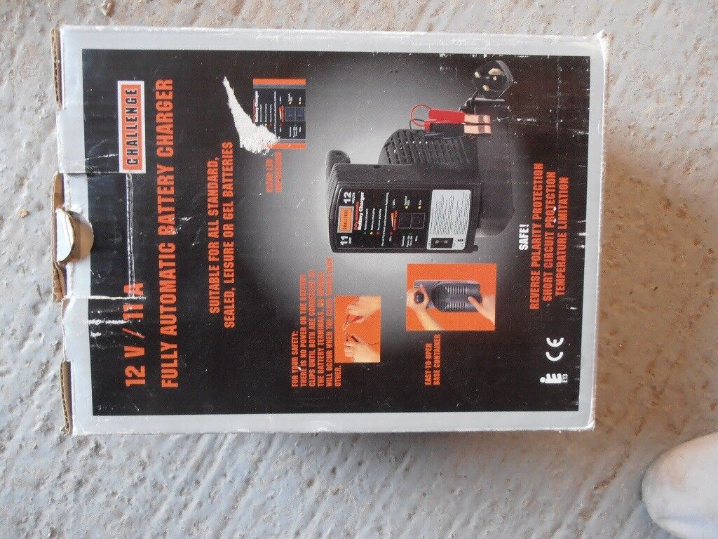 Challenge Battery Charger In Locks Heath Hampshire Gumtree Reverse Polarity Protection