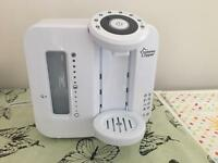 Tommy Tippee Perfect Prep Machine with brand new unopened filter