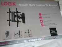 Multi Position Up to 50 Inch TV Wall Bracket