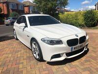 White BMW 5 Series - 520d M Sport