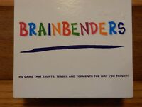 Age 12+ Game BRAINBENDERS Quizz Trivia After Dinner Play Fun Brain Family Training Kids Holiday Fun