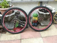 BIKE WHEELS WITH TYRES