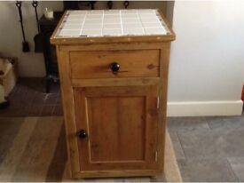 Free standing kitchen/bathroom cupboard