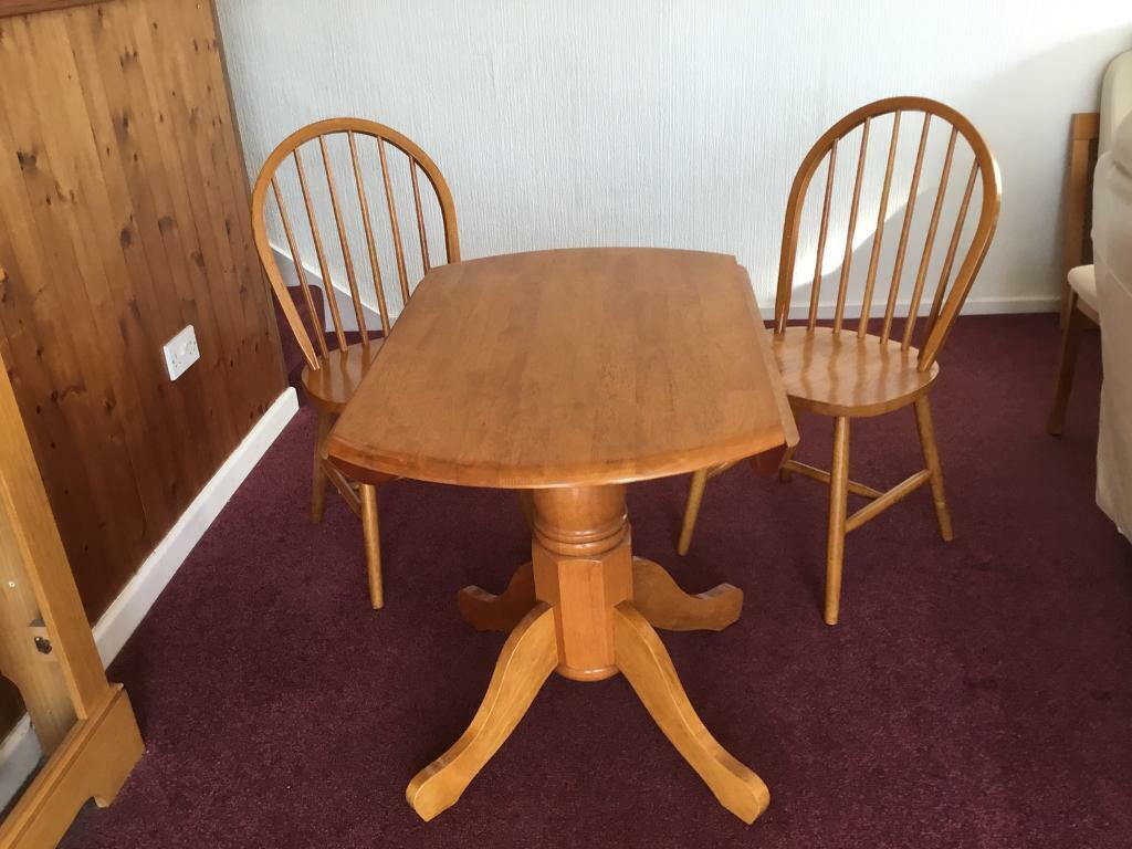 Dining Table And 2 Chairs In Plymouth