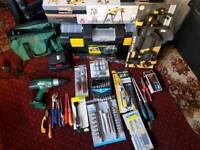 Job lot if tools