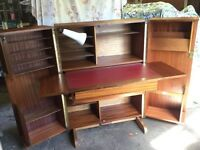 Vintage Metamorphic Teak Desk