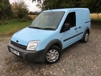 2007 FORD TRANSIT CONNECT 1.8 TDCI - Rare Light Blue - (78,000 Miles) Side loading with tow pack!