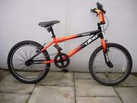 Kids BMX by Vibe, Black with Flames, 20 inch Wheels are for Kids 7+, JUST SERVICED/ CHEAP PRICE!!!!!
