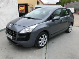 2011 PEUGEOT 3008 1.6 HDI ACTIVE **FINANCE FROM £26.50**