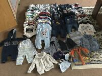 Big bundle for baby boy 0-3 ( 110 items)