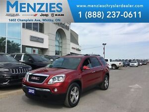 2012 GMC Acadia SLT AWD, Bluetooth, Sunroof, Leather