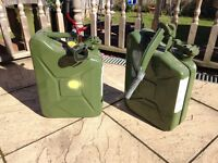 2 Jerry Cans for Sale