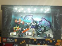 Lego rare 3ft display with lights