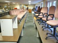 Massive clearance of surplus office furniture / equipment