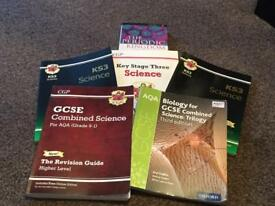 GCSE SCIENCE REVISION GUIDE SET