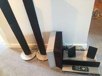 Philips surround sound system + DVD player