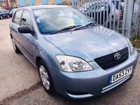 TOYOTA COROLLA 1.4 T2 PETROL MANUAL 2003 LOW MILEAGE 2 OWNERS SERVICE HISTORY