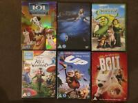 17 kids dvds Disney d 17 kids dvds Disney dreamworks & others £10 for the lot