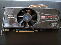RADEON 4870HD 1GB Graphics Cards - Toxic