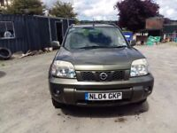 breaking green nissan xtrail 2.2 turbo diesel YD22 4x4 parts spares repairs