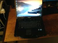 Panasonic Toughbook CF-52 Laptop i5 2.4Ghz Rugged built Laptop FROM £125.00