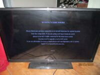 32 inch LCD TV with remote