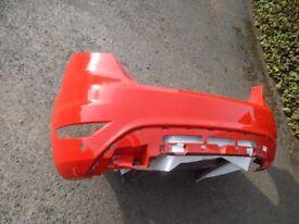 Red REAR Bumper - Ford Fiesta 2015