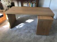 IKEA malm desk -oak veneer