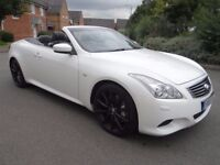 2010 INFINITI G 3.7 V6 GT 2DR AUTO CONVERTIBLE LOW MILES FULL SERVICE HISTORY