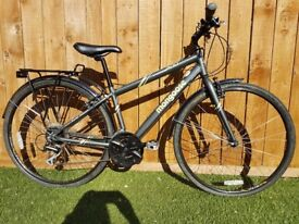 Mongoose Crossway 300 Hybrid Bike XS 6061 butted aluminium