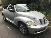 Chrysler PT Cruiser Limited 2429cc Petrol 5 speed manual 2 door Convertible 07 Plate 17/04/2007