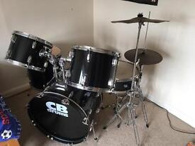 Drum Kit with rubber silence pads CB Drums