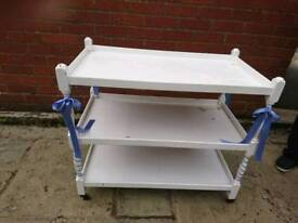 3 tier cake trolley