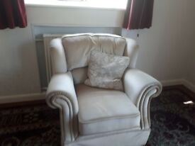2x2 seater sofa with armchair