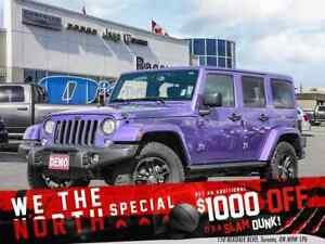 2017 Jeep Wrangler Unlimited ***COMPANY DEMO***EXTREME PURPLE***