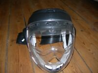 Protective mask for sparring.
