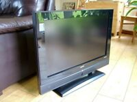 "SANYO 32"" LCD FREEVIEW 2xHDMI FREE DELIVERY"