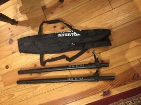 Speaker Poles in carry bag