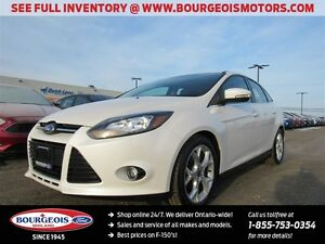 2014 Ford Focus Titanium 2.0L I4 POWER MOONROOF