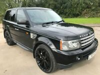 Great Value 2007 Range Rover Sport 3.6 HSE Auto Upgraded Black Alloys Full Service History April MOT