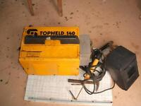 Arc Welder with complete acssories welding rods face shield ect