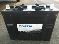 VARTA BLACK PROMOTIVE 12V BATTERY HEAVY DUTY TRUCK, PLANT, VAN, MOTORHOME, LEISURE 125AH 720A