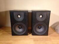 Wharfedale Diamond IV™ Black Real Hardwood Bookshelf Speakers (2 Way) 8 Ohms RPR£229