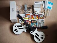 Nintendo Wii console, boxed, Lego Star Wars, & more games