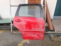 2007 VW Polo DS Rear Door Red