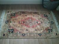 Traditional hearth rug