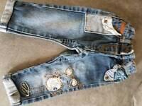 Next baby girls jeans